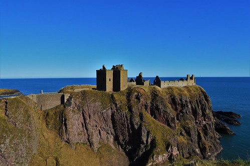 Dunottar Castle. Priority: History. From 5 Unique Ways to Road Trip Around the UK