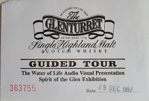 Glenturret ticket 1997