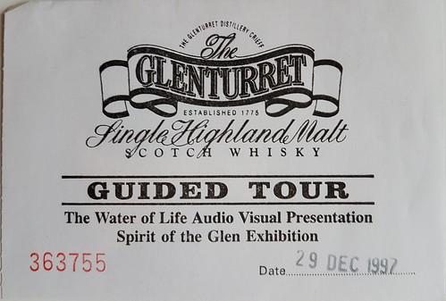 Glenturret ticket 1997