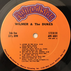 WILMER & THE DUKE:WILMER & THE DUKE(LABEL SIDE-A)