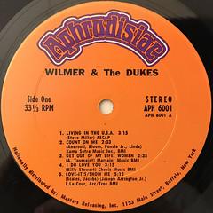 WILMER & THE DUKE:WILMER & THE DUKE(LABEL SIDE-A)