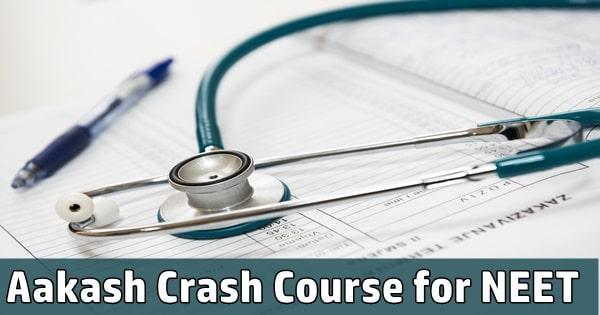aakash crash course for neet