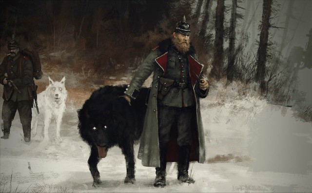 Scythe - černý vlk