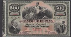 DNW - Spanish 500 pesetas