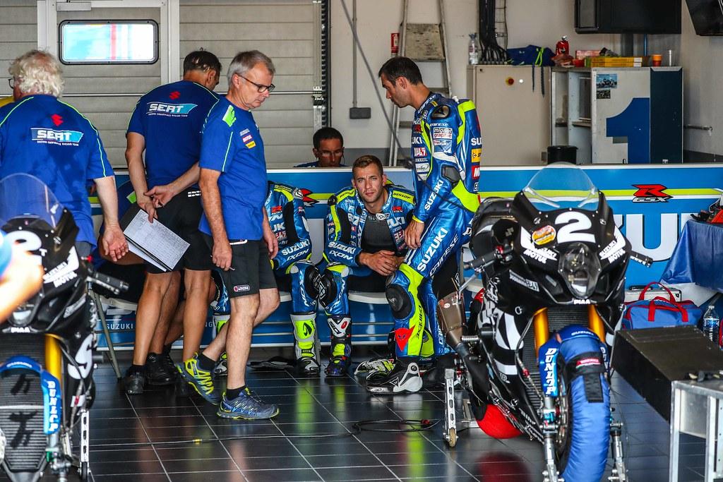 Bol,Dor,2018,Ewc,Test,Days,,Suzuki Endurance Racing Team,Vincent Philippe,Etienne Masson,Gregg Black