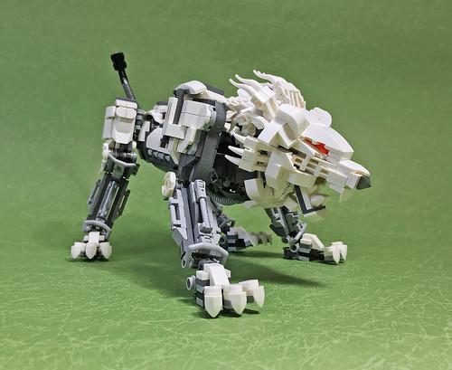 LEGO Mech Lion ver2-02