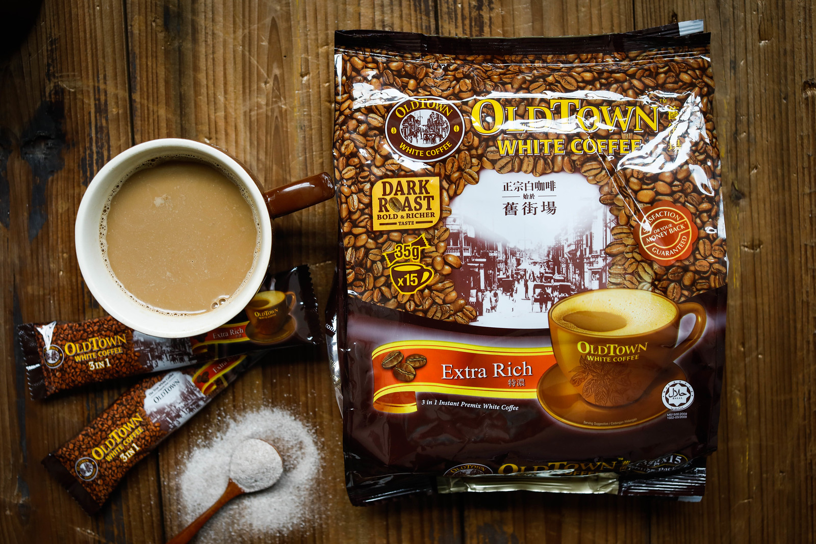 OLDTOWN White Coffee 3in1 Extra Rich