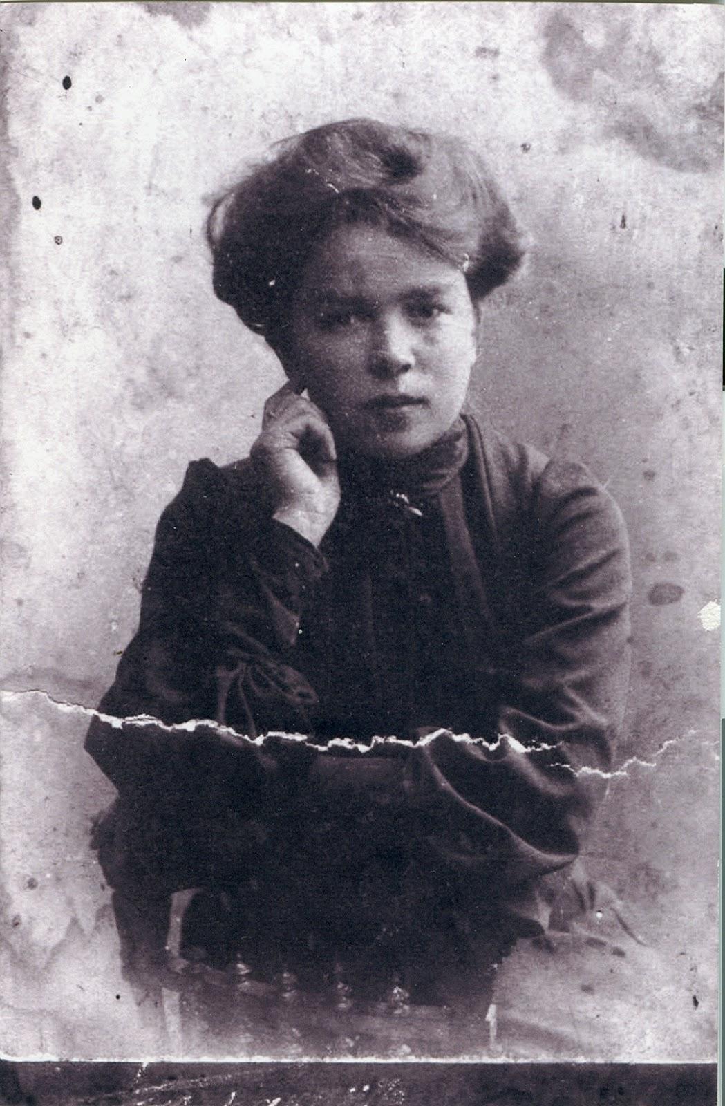 Жена П.А.Молчанова. Наталья Ивановна Молчанова (урожд. Беликова)