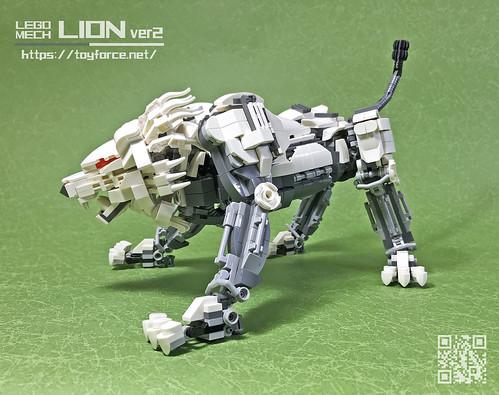 LEGO Mech Lion ver2-01T
