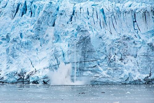 Glacier Calving.