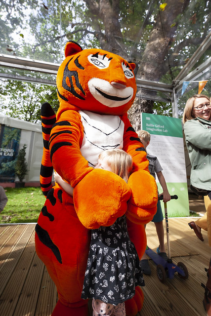 Hugs with the Tiger Who Came To Tea