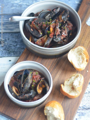 Muscheln in Tomaten-Fenchelsauce (1)