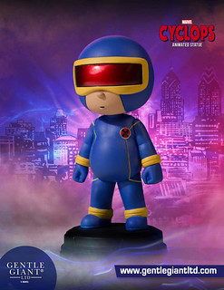 看起來超欠欺負的啦~~ Gentle Giant Marvel Comics【獨眼龍】Cyclops Animated Statue