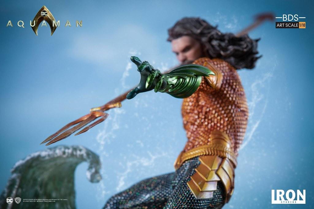 Iron Studios Aquaman 110 Battle Diorama Series Statue