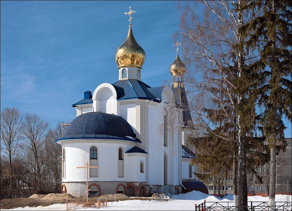 Песочная Буда, Беларусь, Церковь Успения Пресвятой Богородицы