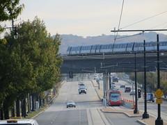 20161114 24 DC Streetcar & WMATA Metro, Benning Rd.