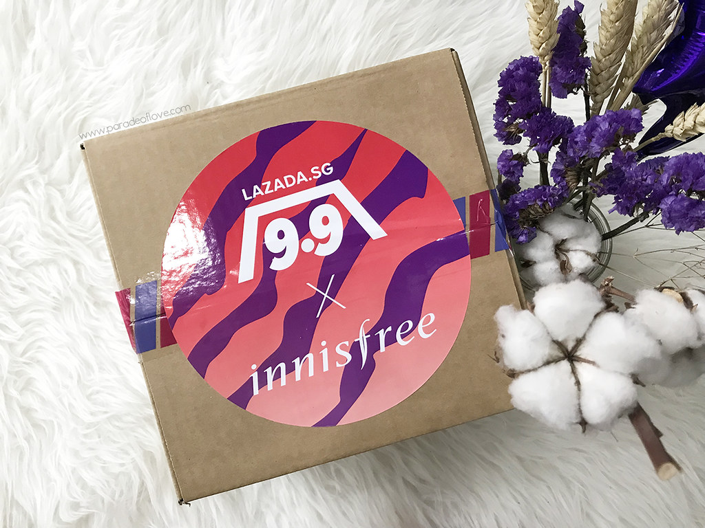 Lazada 9.9 Sale x innisfree Surprise Box