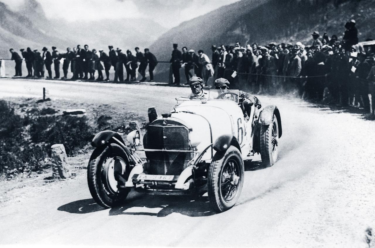 Benz supercharged racecar, circa 1919