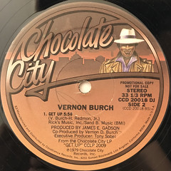 VERNON BURCH:SAMMY JO ANNE - ONE HALF WOMAN ONE HALF MAN(LABEL SIDE-B)