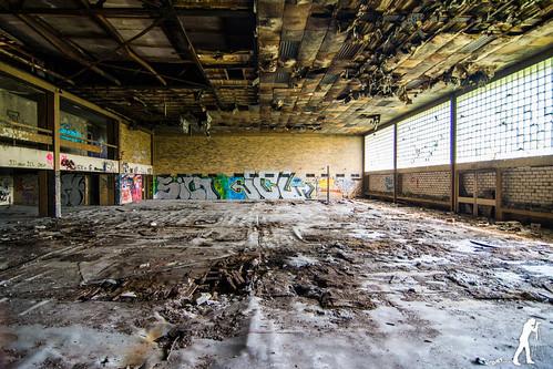 Lost Places Bergbau Berufsschule