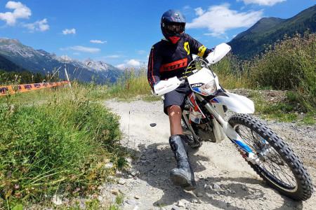 Bike SNOW tour: St. Anton am Arlberg -  adrenalin na e-motorkách