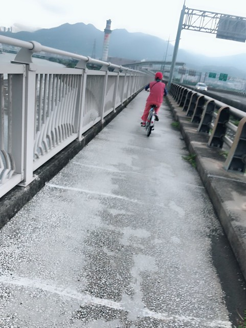 延平北路五段,關渡騎自行車 (6)