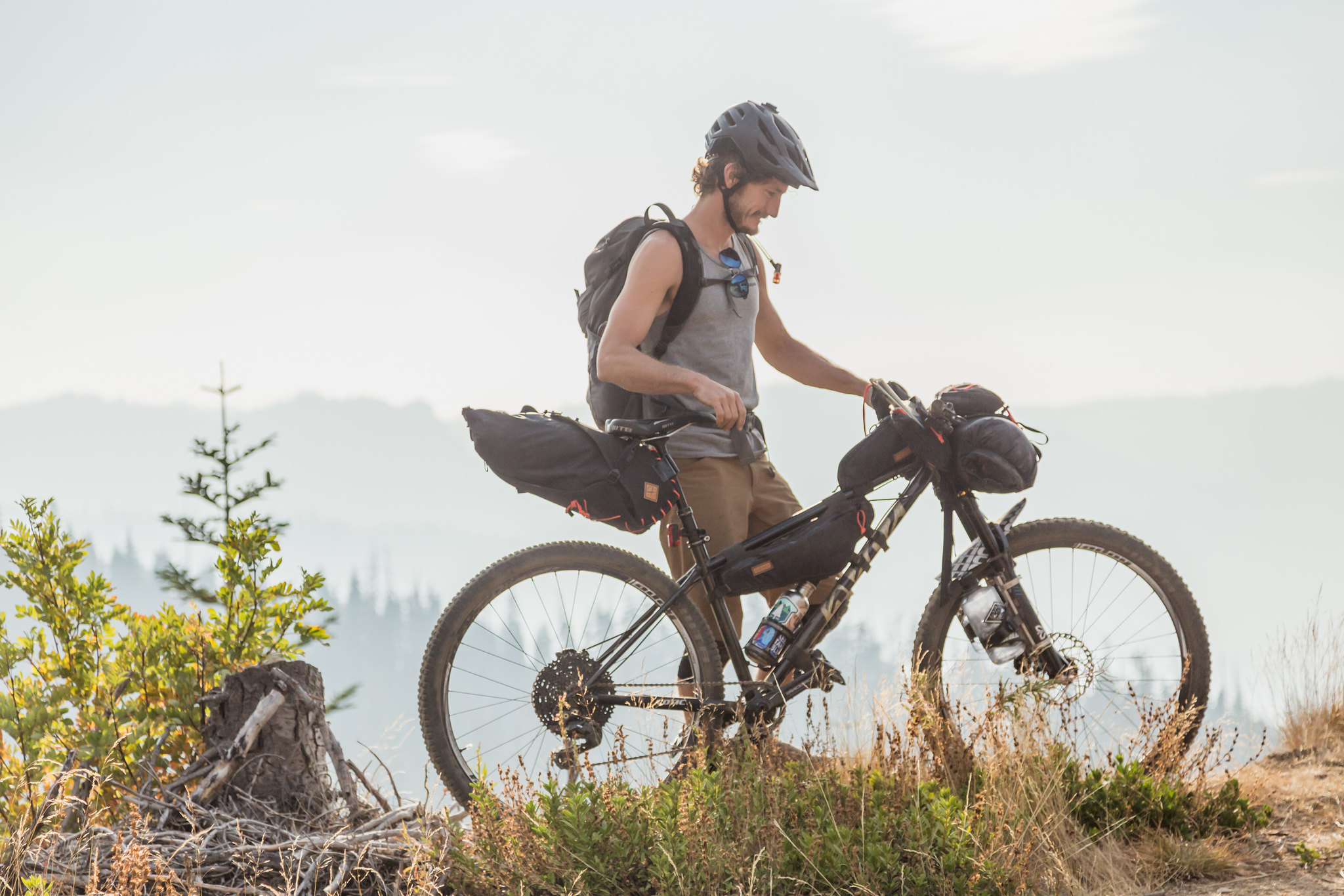 trash free trails, cotic trail fund, powered by cotic