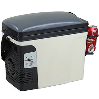 Generic 12V Thermoelectric RV Car Cooler Warmer Portable Mini Truck Refrigerator 110V Office Home Food Heater Beverage Cooler Fridge,6L For Sale | by dogco