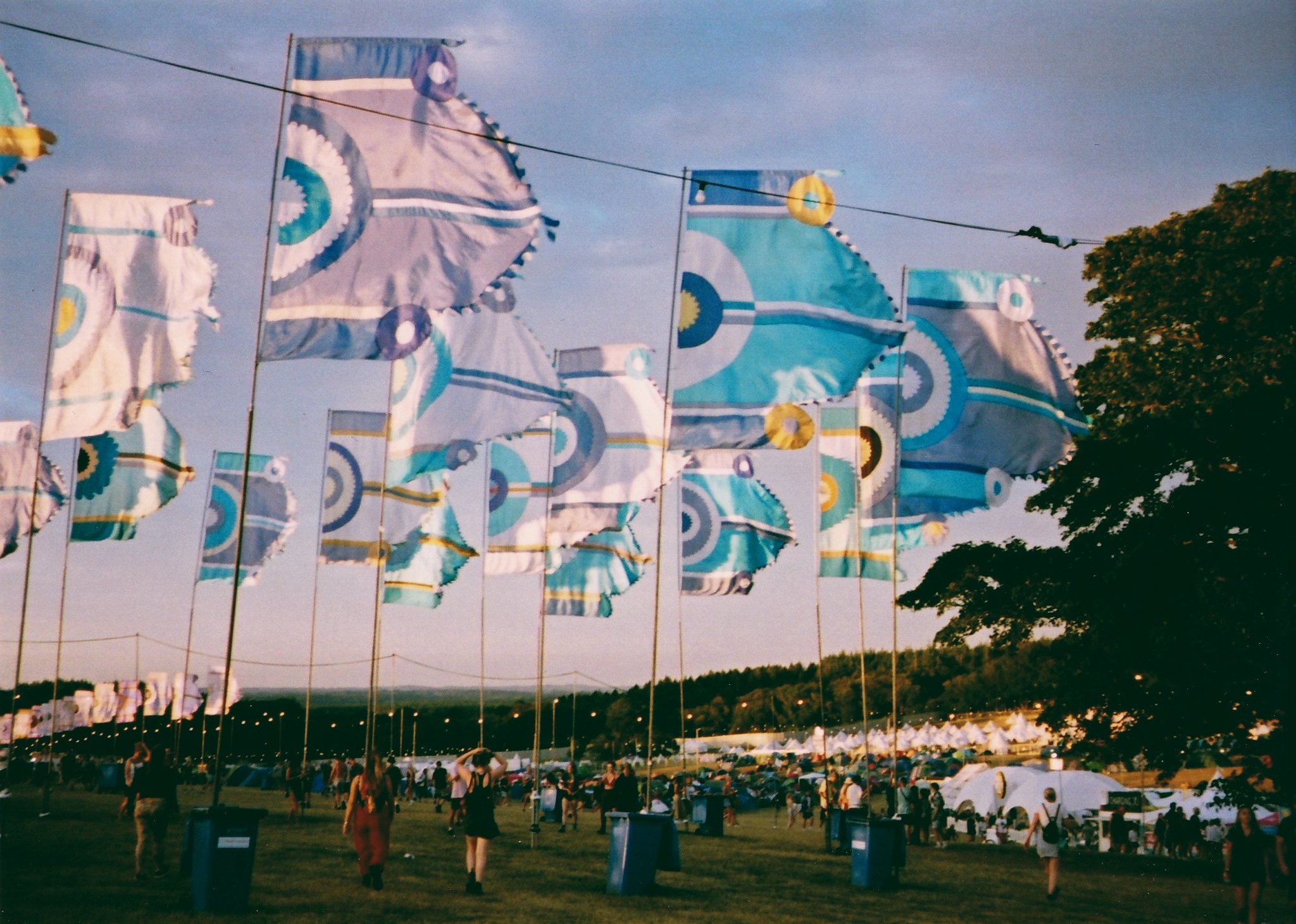 Bestival 2018 | blog review | music festival | plantsandgoodvibes | flags