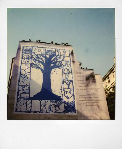 L'arbre bleu, Alechinsky