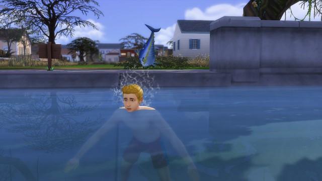 The Sims 4: Mod Que Permite Sims Nadarem no Mar Está Sendo Desenvolvido