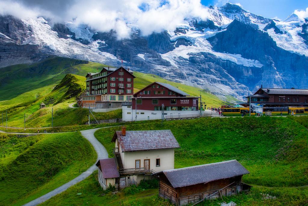 Kleine Scheidegg , Switzerland