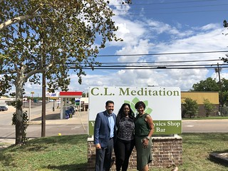 C.L Meditation Ribbon Cutting