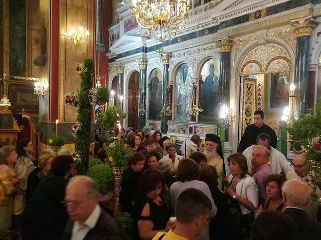 Η εορτή της Ύψωσης του Σταυρού στην Τρίπολη