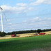 DSC_8695 Isle of Axholme It is the only part of Lincolnshire west of the River Trent Wind Farm and Harvest Time with Combined Harvester