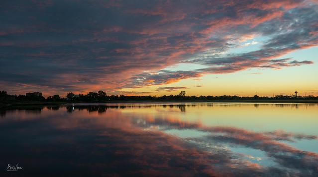 North Woodmere Sunset 1, Nikon D800, AF-S Nikkor 16-35mm f/4G ED VR