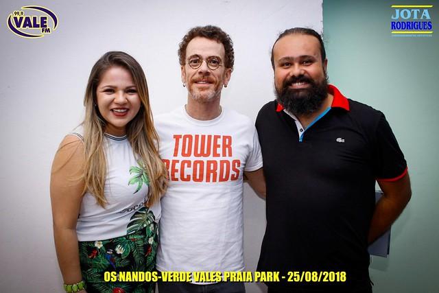 Nando Cordel e Nando Reis fazem shows inesquecíveis em Juazeiro; veja as fotos