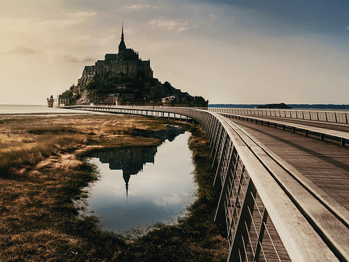 Moint Saint Michel, Francia