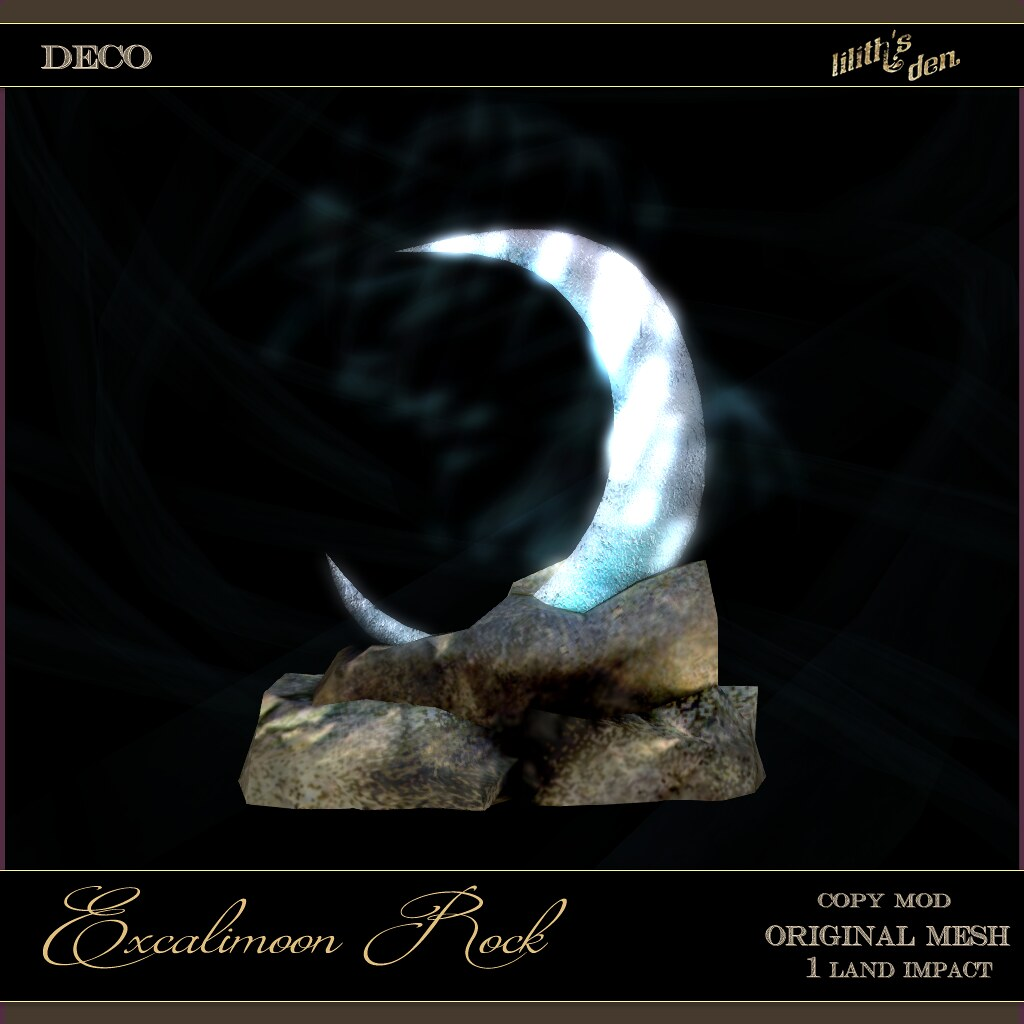 Lilith's Den –  Excalimoon Rock