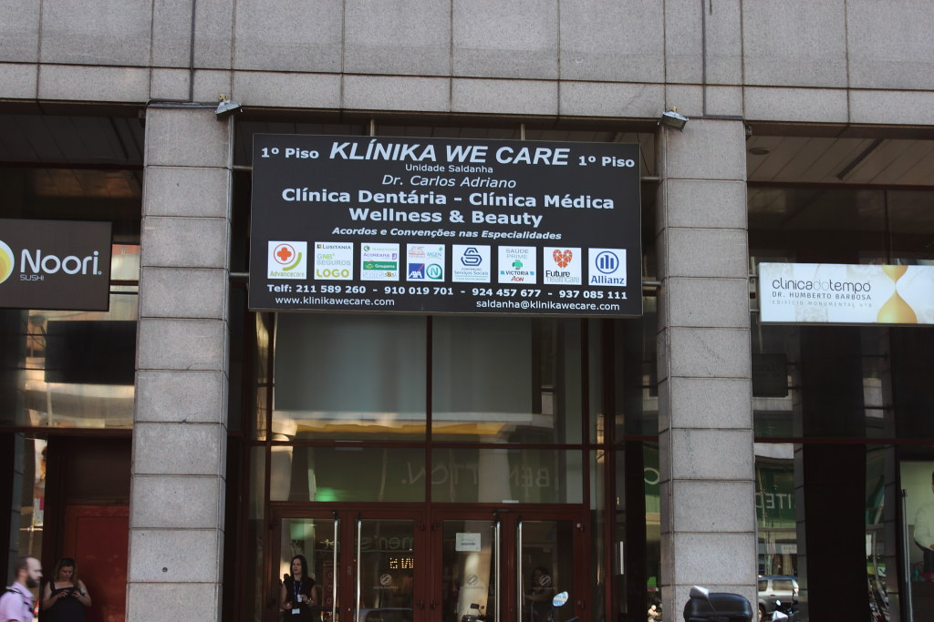 Klinica we care, Saldanha — n.º 7 397 © 2015