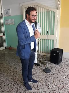il sindaco Giuseppe Nitti