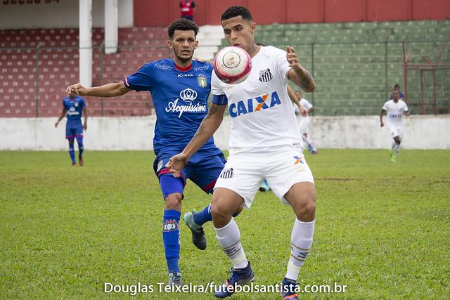 Santos 1 x 2 São Caetano