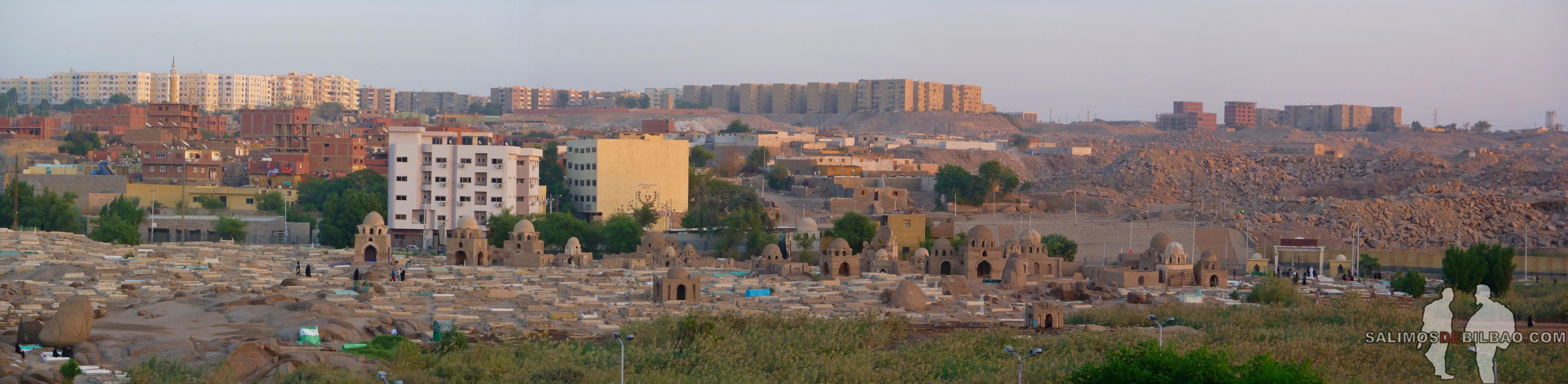 0539. Pano, Cementerio de Aswan