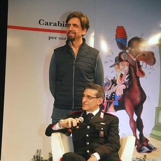 Antonio Mariella con Valerio Staffelli
