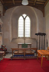looking east in the north chancel chapel