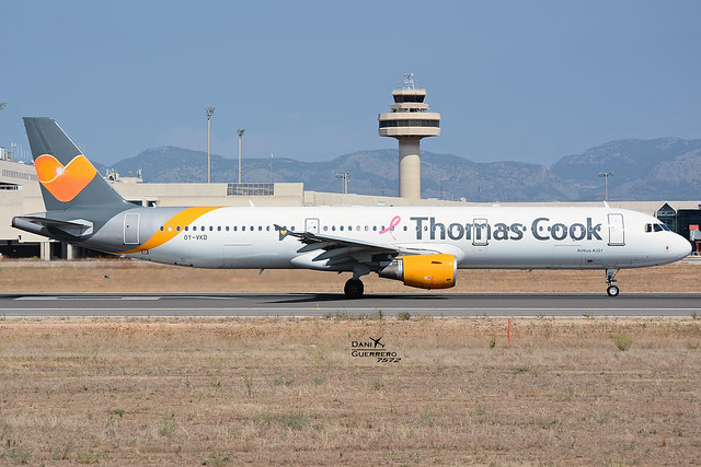 OY-VKD Thomas Cook Airlines Scandinavia Airbus A321-211