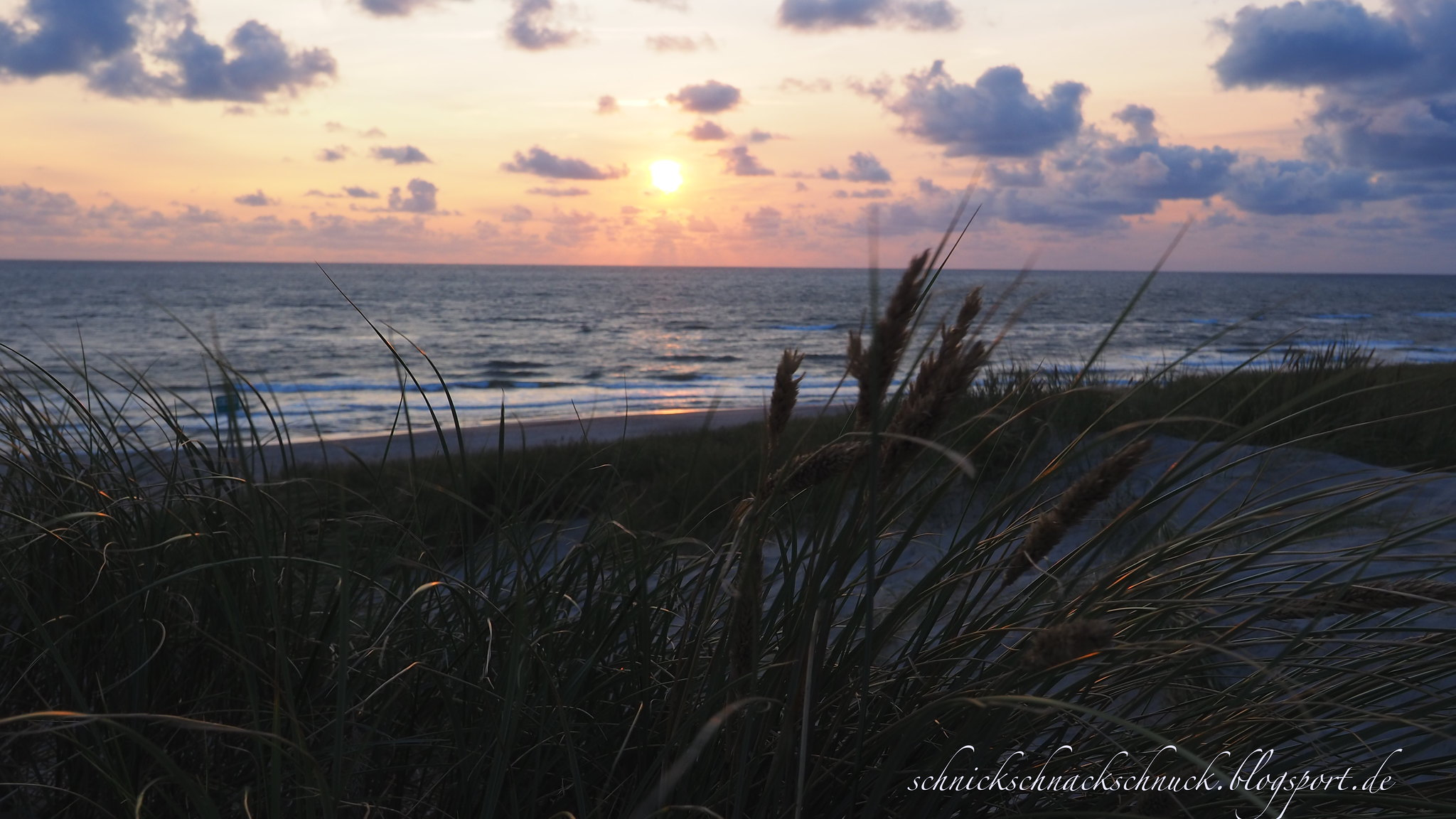 Sonnenuntergang Hvide Sande
