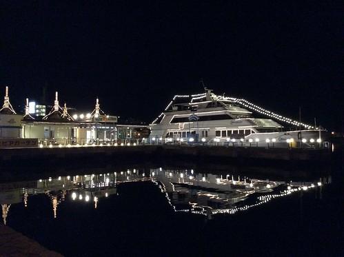 函館 観光遊覧船ブルームーン 夜景 4E724818-DDE9-44D1-B036-0506A3748820