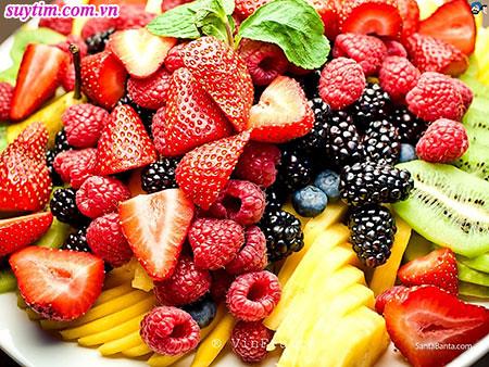 Các loại quả mọng rất tốt cho tim mạch