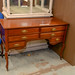 Antique 6 dwr desk E200